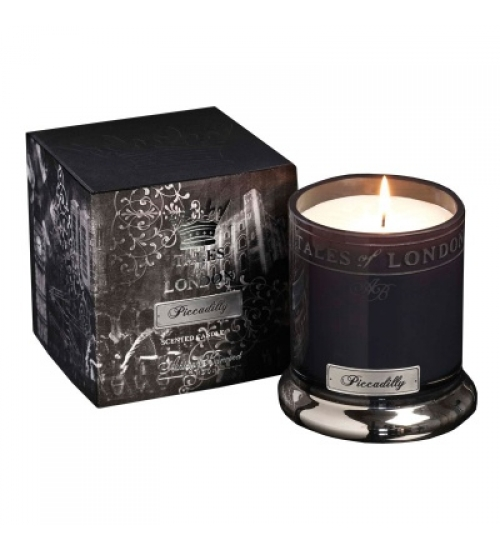 VELA PERFUMADA TALES OF LONDON PICCADILLY 350g