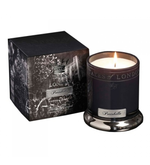 VELA PERFUMADA TALES OF LONDON PORTOBELLO 350g
