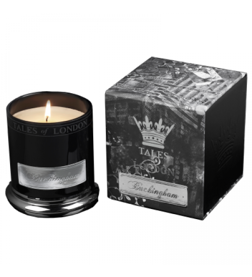 VELA VOTIVE PERFUMADA TALES OF LONDON BUCKINGHAM 80g